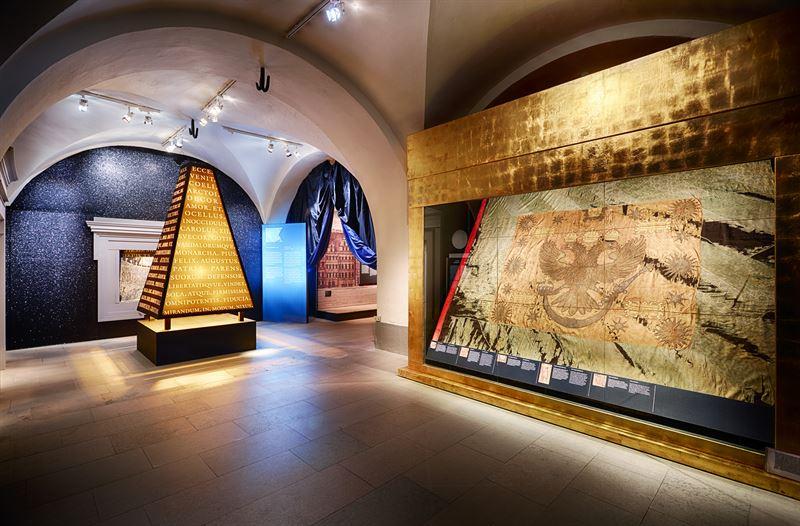 Bild frn utstllningen Segerns pris  Narva 1700