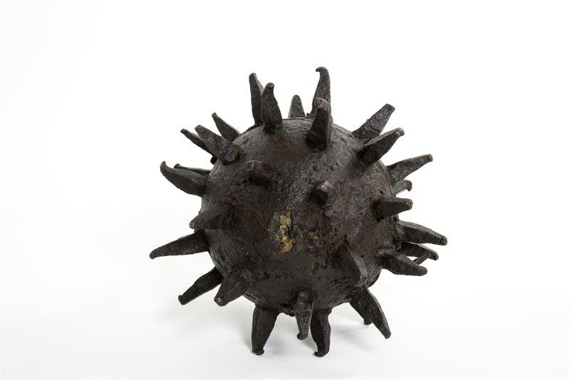Spetsbomb, 20 kilo tung. Foto: Armémuseum.
