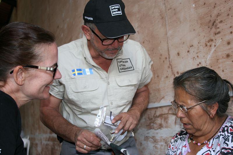Svenska Optiker Hjalpte 2351 Behovande I Guatemala Att Se