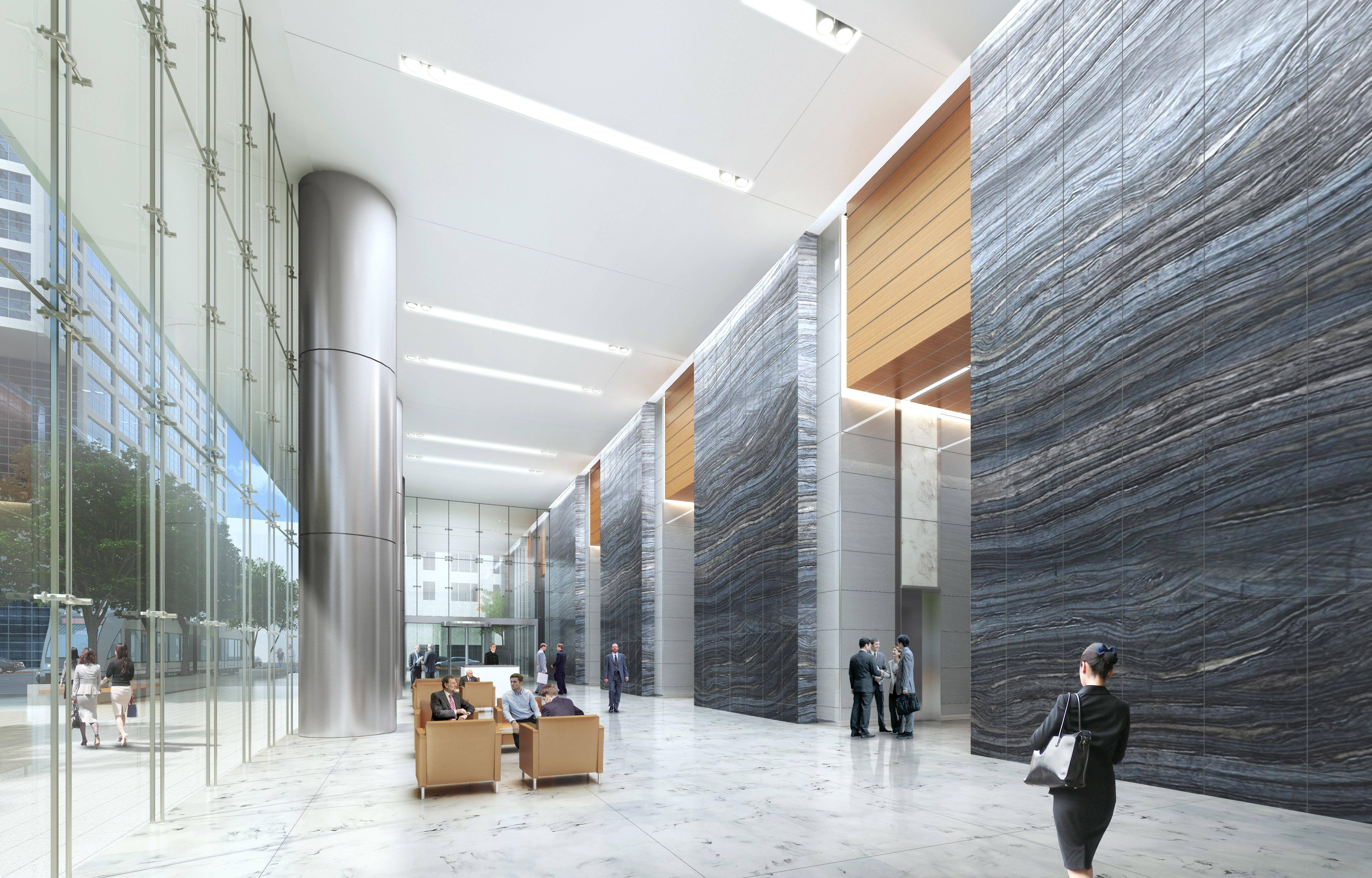 Houston Capitol Tower Lobby Skanska