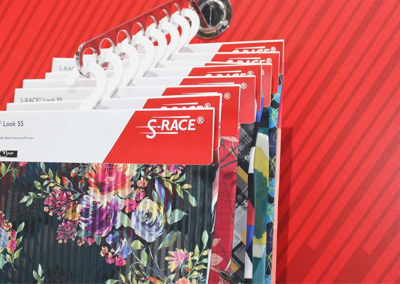 SRACE dye sublimation papers for all kind of textile applications