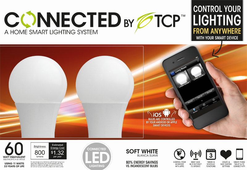 Tcp Unveils Smart Home Lighting System