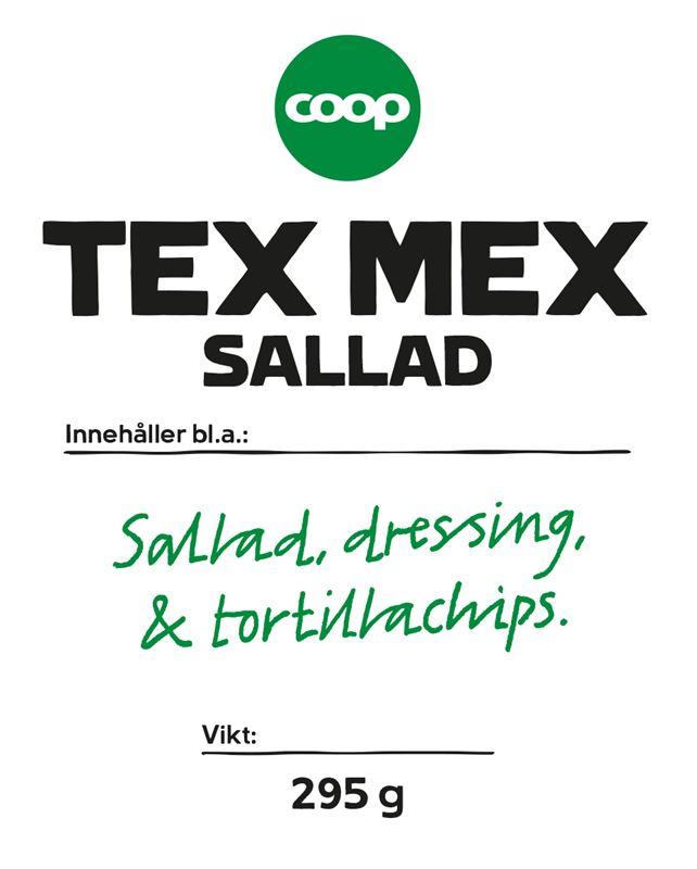 Coop Salladsmix TexMex 295g