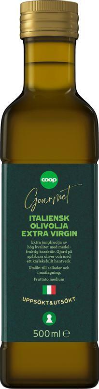 Coop Gourmet Italiensk Extra jungfruolja