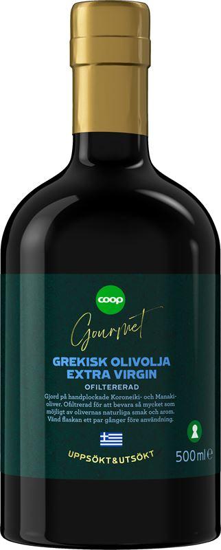 Coop Gourmet grekisk Extra jungfruolja