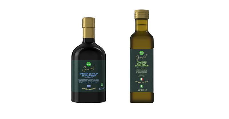 Olivolja Coop Gourmet