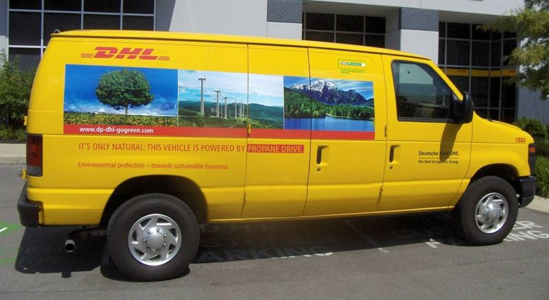 Dhl Pickup Locations >> Dhl Express Launches 100 Propane Autogas Vans For Pickup And