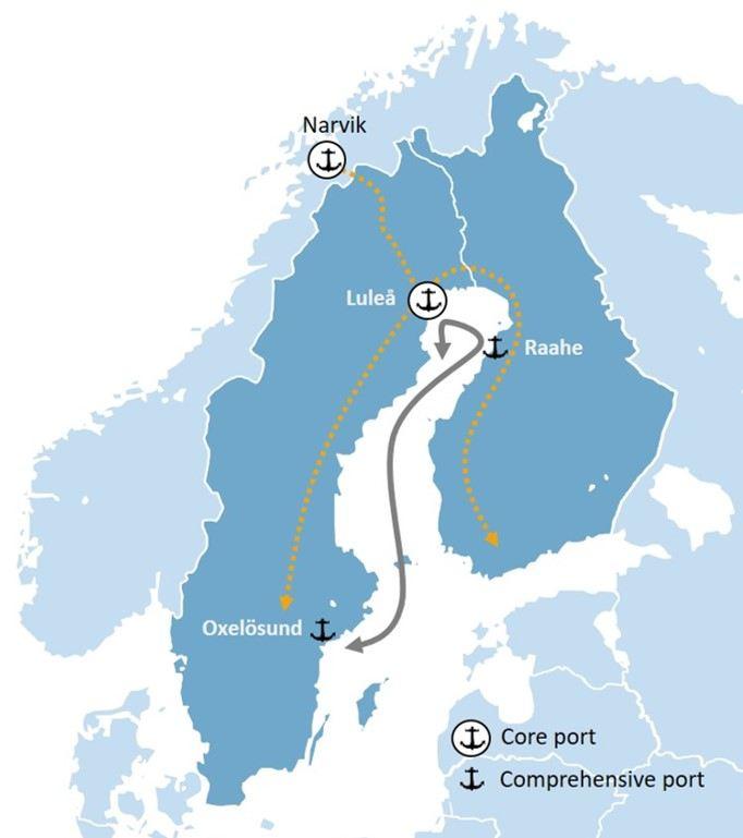 Bothnia Bulk Environmental upgrade of yearround supply in the