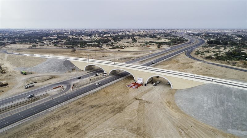 SSAB's steel in world record bridge in UAE - SSAB