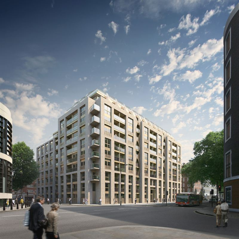 View of 190 Strand by GRID Architects / London, UK