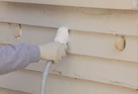 Usa Premium Foam Insulation Is Injected Into The Walls Of