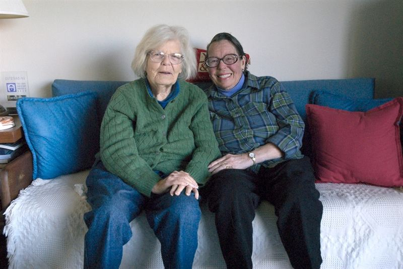 Phyllis Lyon and Del Martin, first same-sex couple ever to marry ...