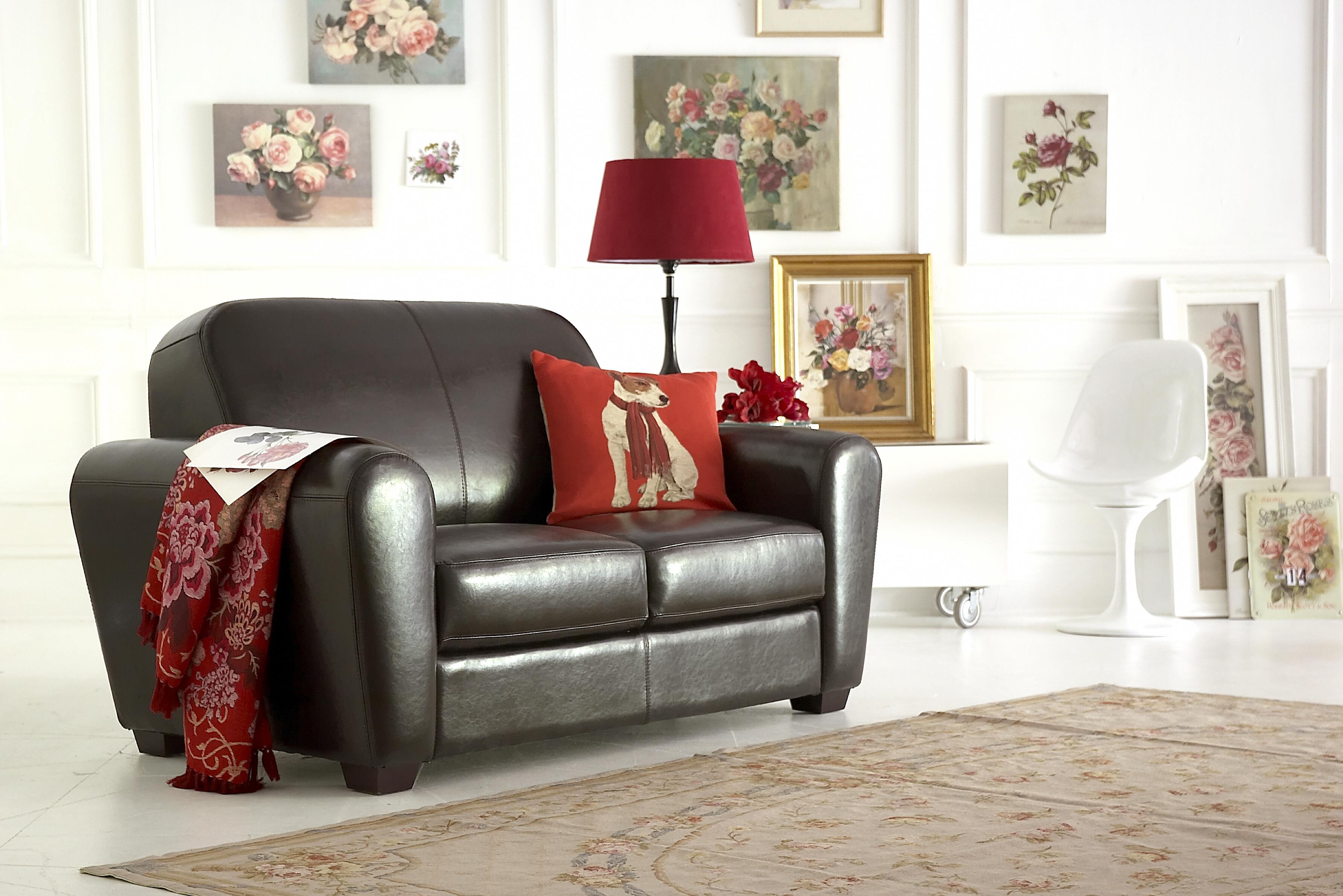 Paris Leather Sofa by Leather Sofas Online - Dakota DigitalLtd
