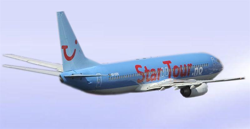 star tour flyrejser
