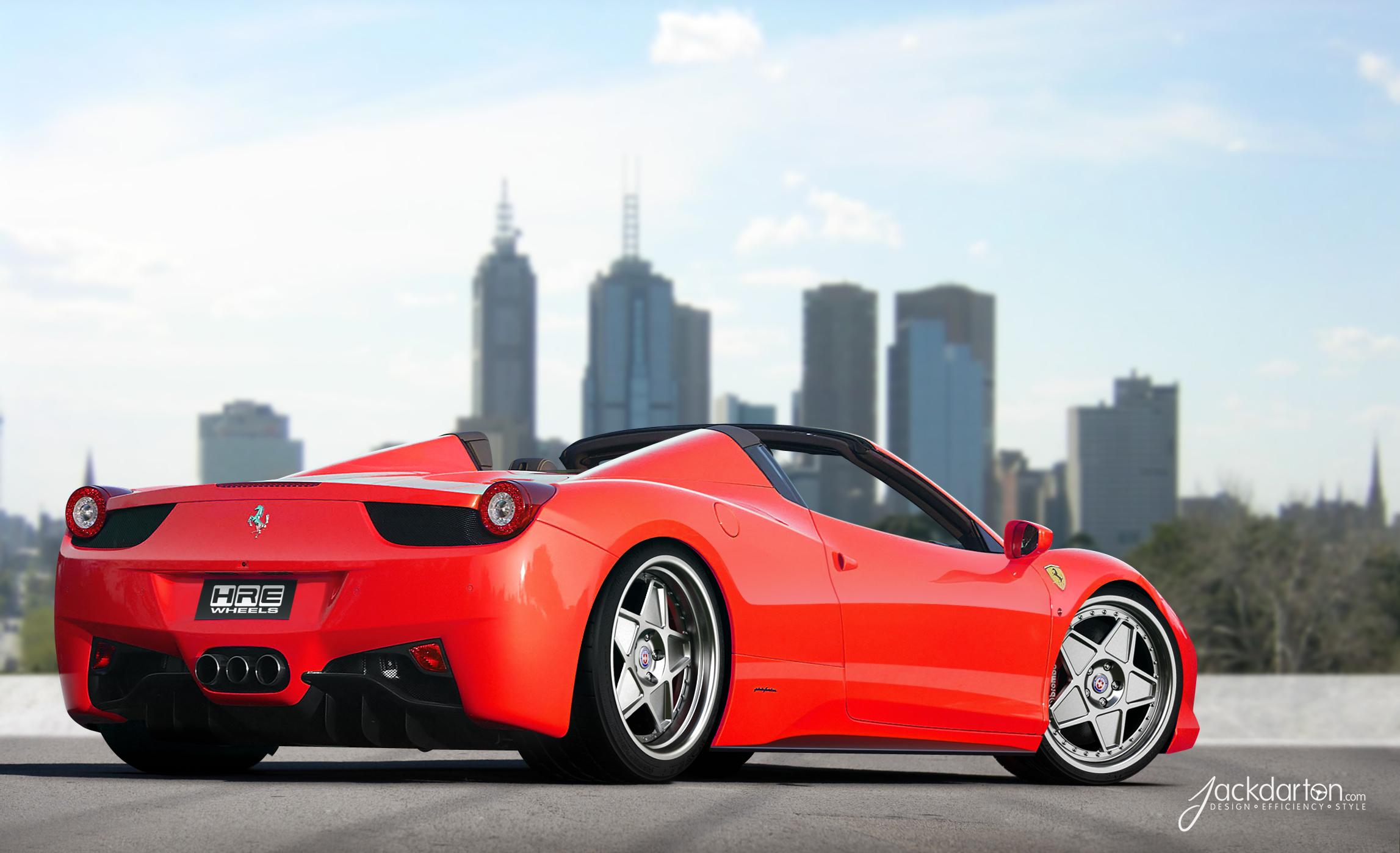 Ferrari 458 Spyder Hre Vintage 505 Kahn Media
