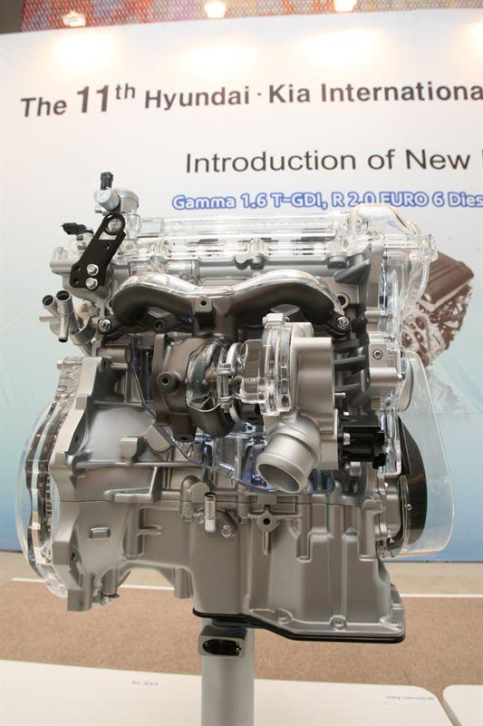 Gamma 1 6 T Gdi Engine 3 Hyundai Motor Company