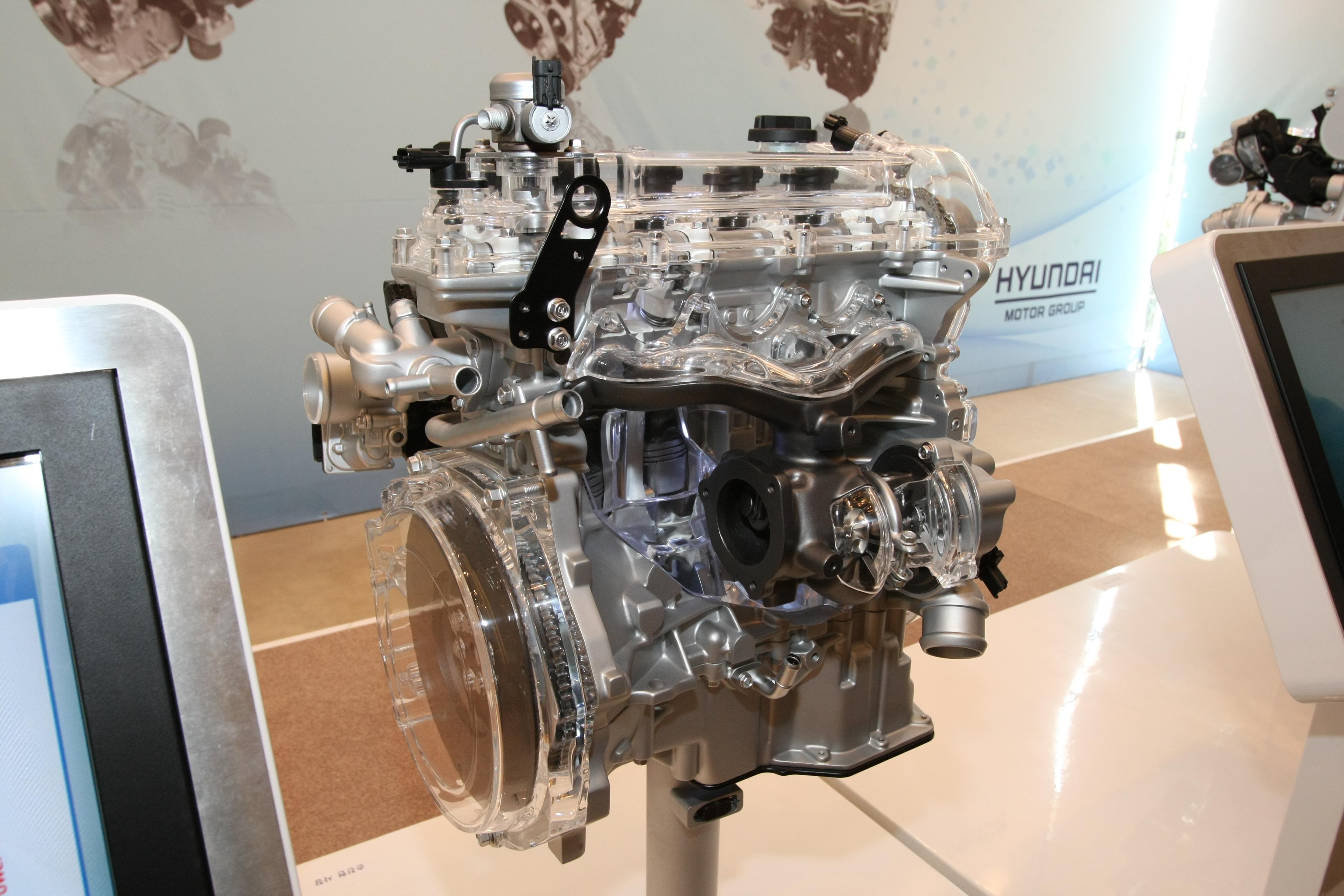 Gamma 1 6 T - GDI Engine (1) - Hyundai Motor Company