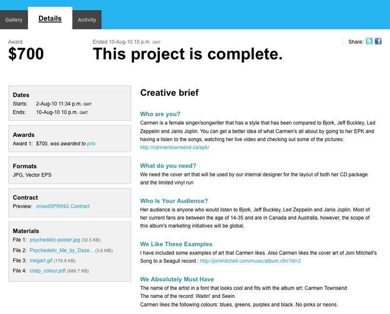 Design roadmap timeline showing brand brief website update.