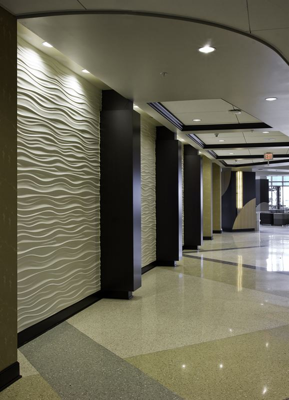 Loma Linda Wavy Wall Feature Inner Design Studio