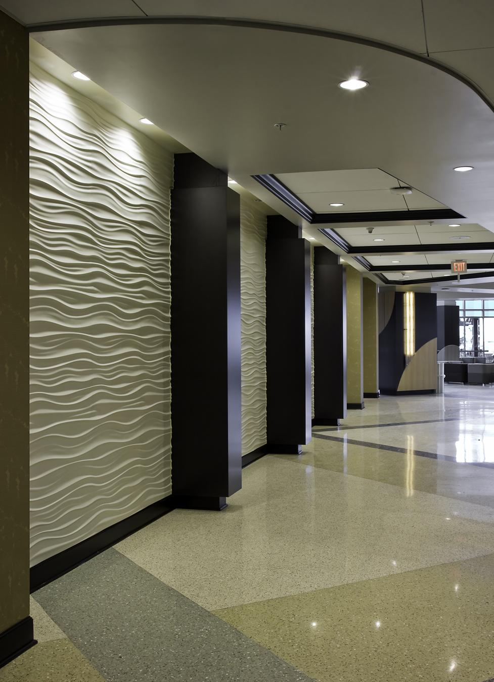 Loma Linda Wavy Wall Feature Inner Design Studio