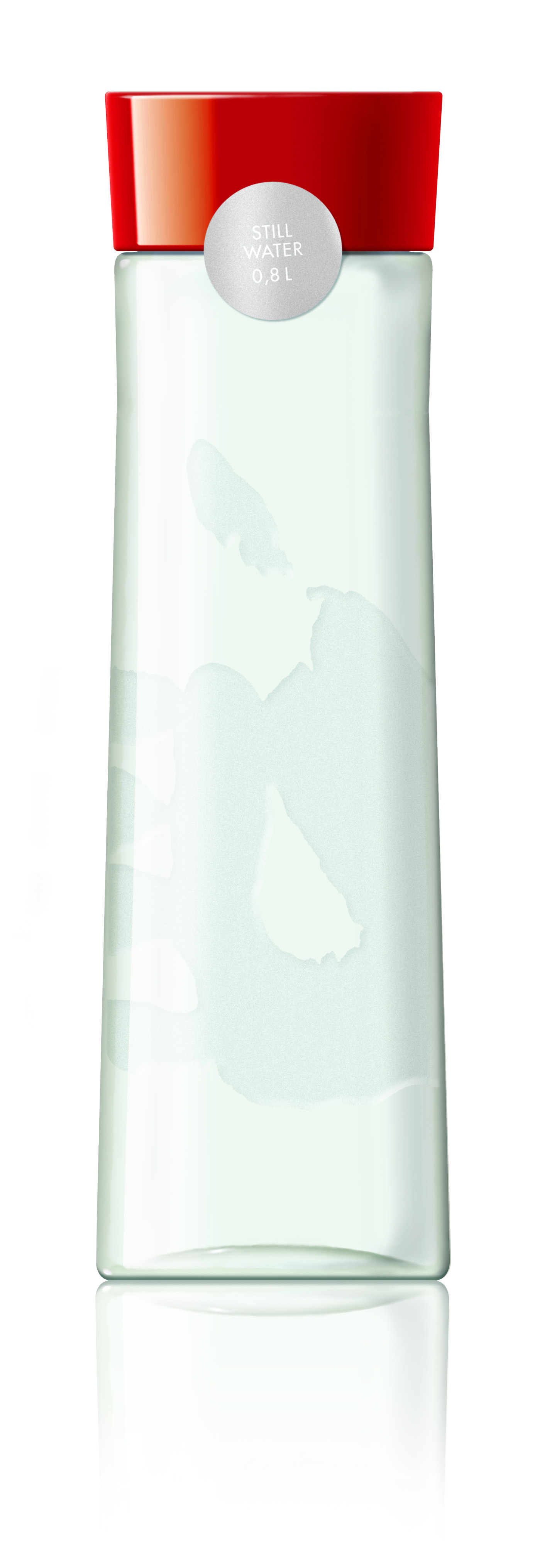 Scandic's own designed water bottle