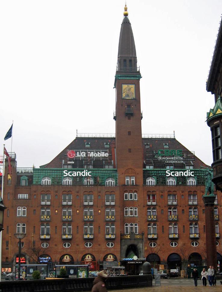 New Scandic hotel in the heart of Copenhagen