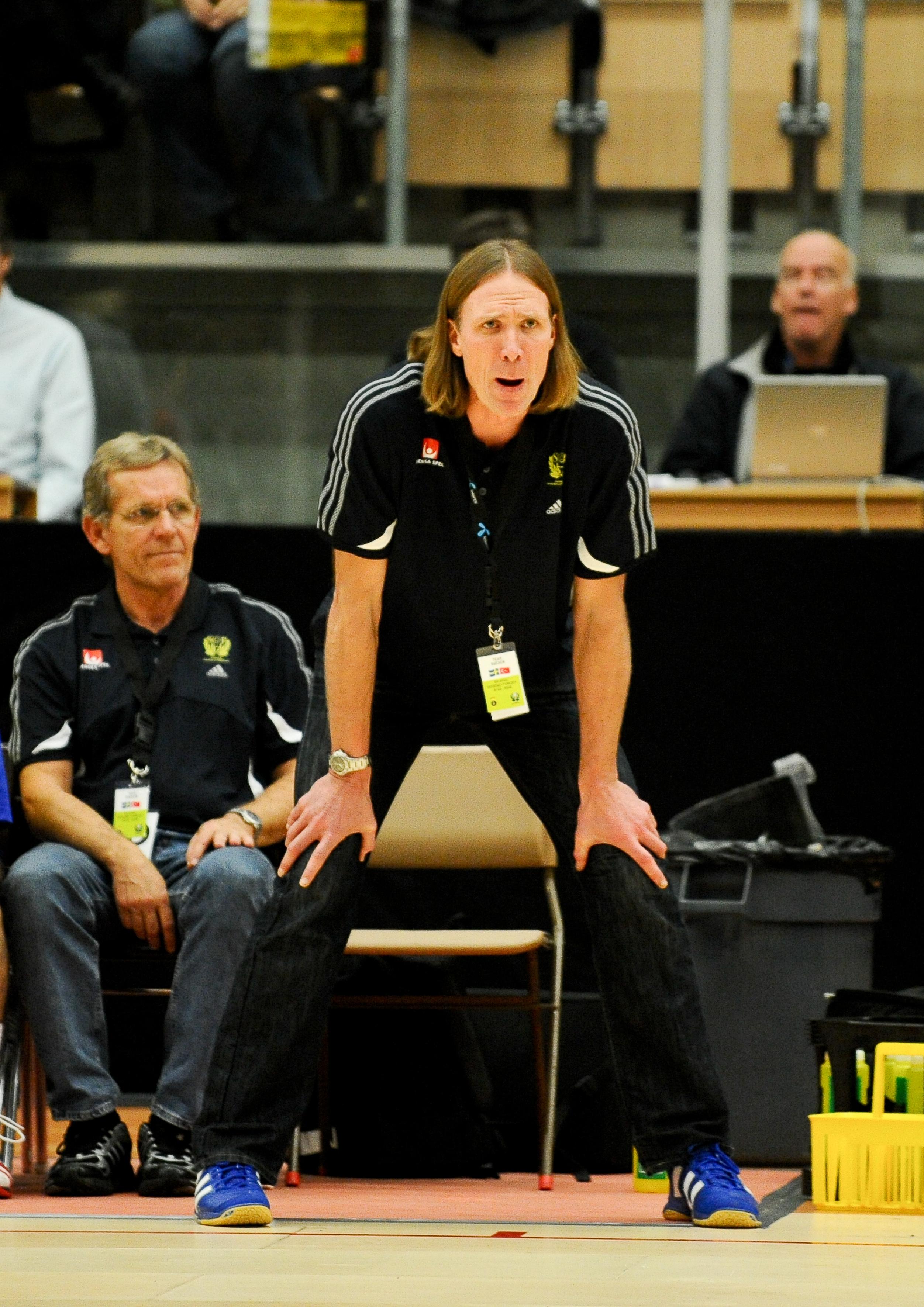 Staffan Olsson inviger Scandics nya gym