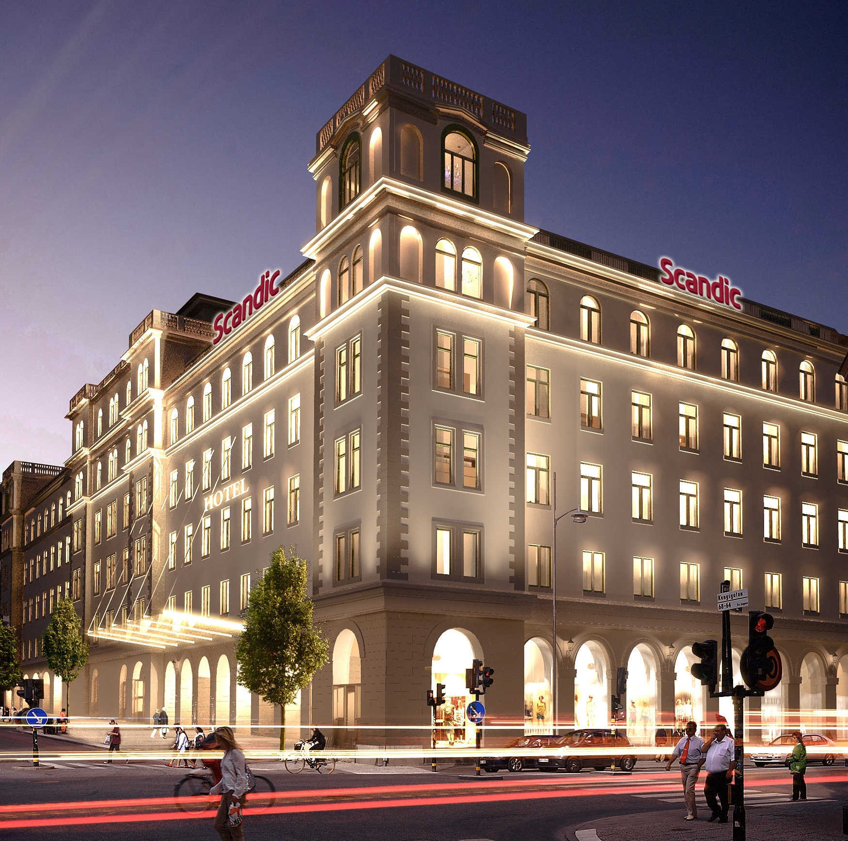 Scandic creates Stockholm's most exciting hotel