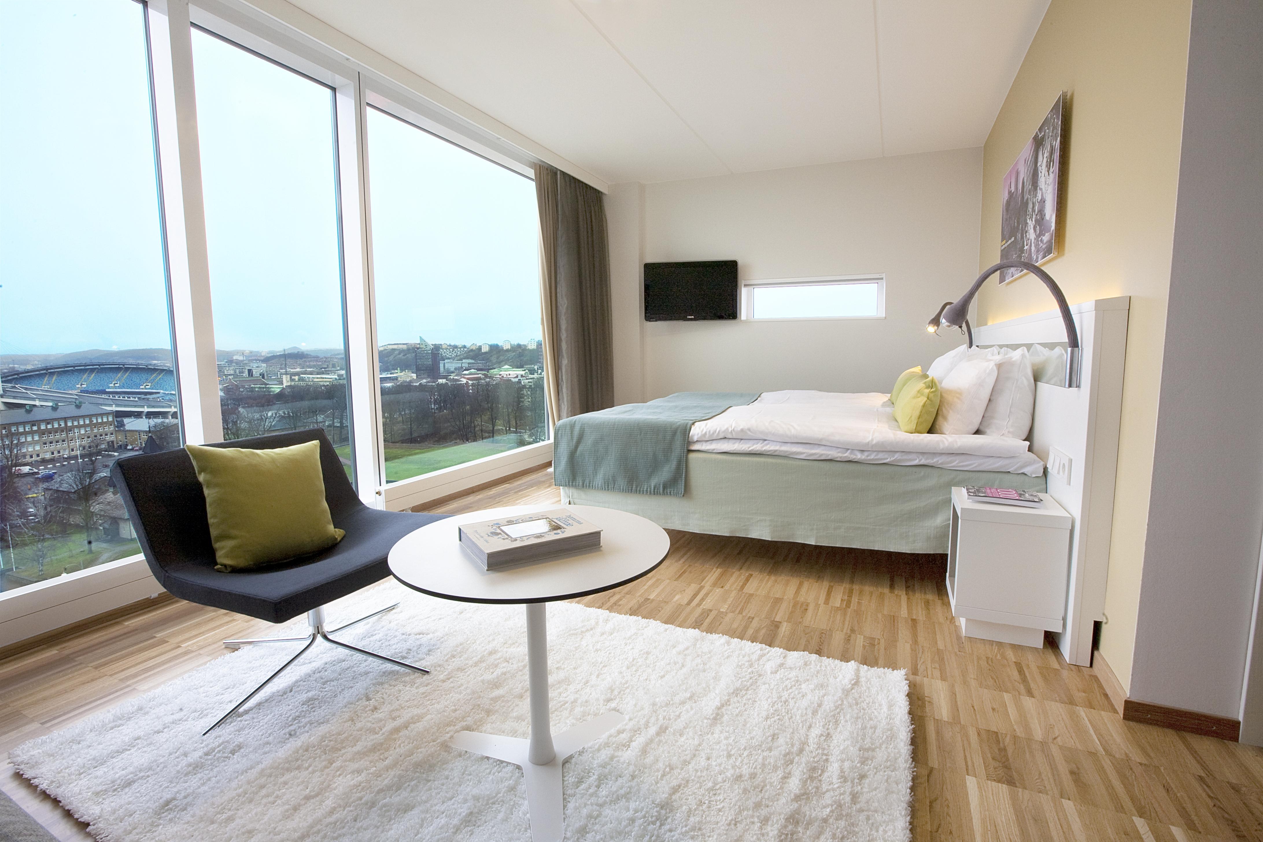 110 nya hotellrum med panoramautsikt över Göteborg