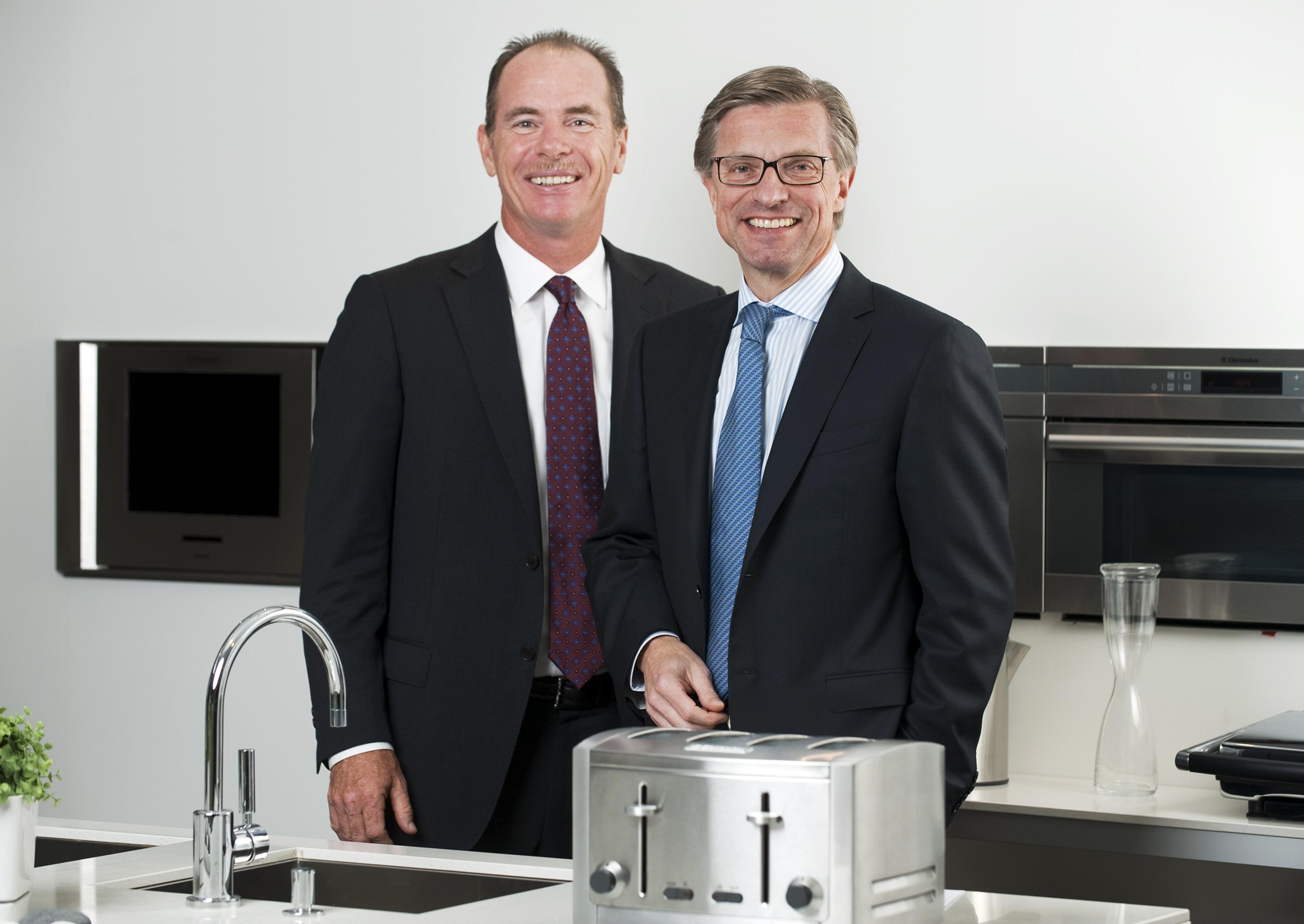Hans Stråberg och Keith McLoughlin