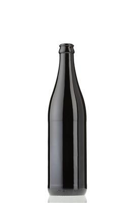 O Beer Black glass bottle - 3...