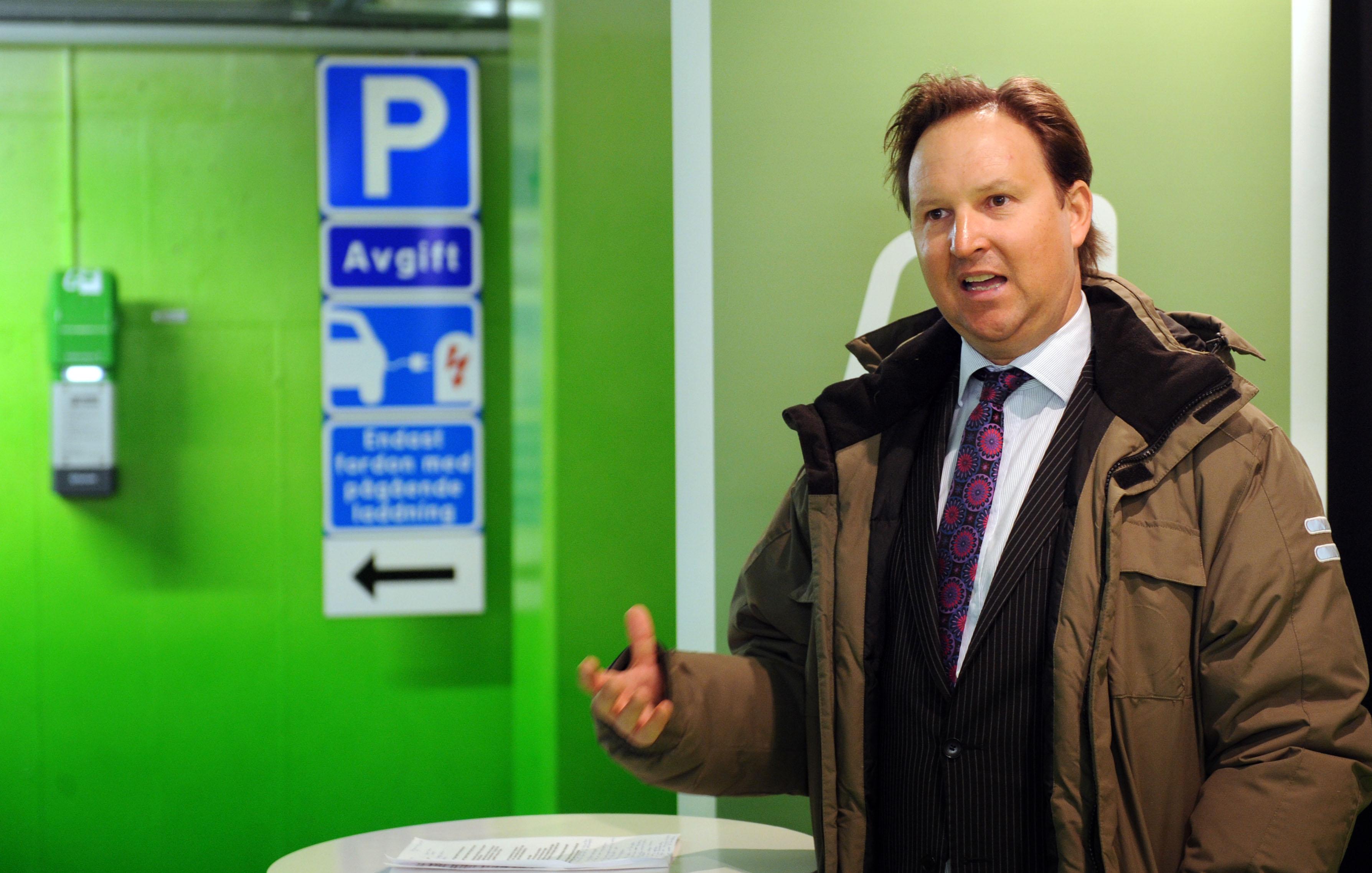 Johan Ander, affärsansvarig Charge & Drive, Fortum