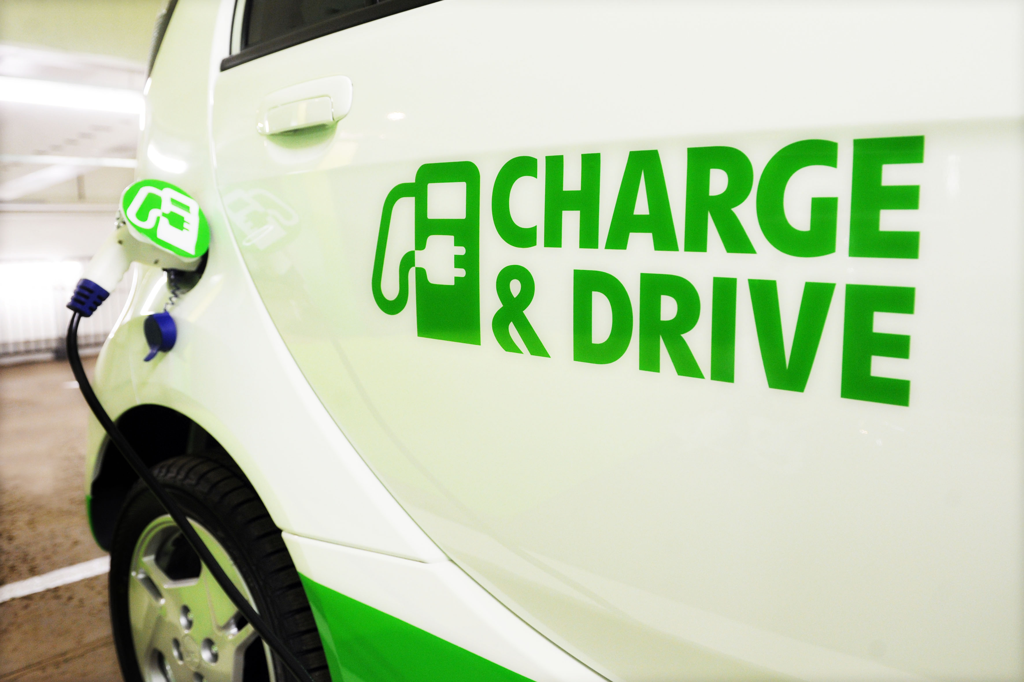 Charge & Drive - laddlösning som hanteras via mobilen