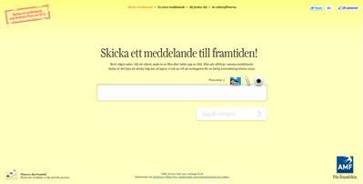 """amf meddelande 20 år Guldägg till AMF Pension och Forsman & Bodenfors för """"Meddelande  amf meddelande 20 år"""