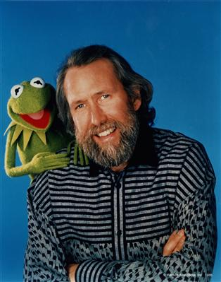Jim Henson, class of 1960, with Kermit the Frog