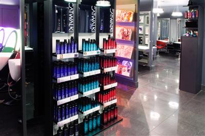 Tigi Haircare Products On Shop Display Lilac James Co Ltd