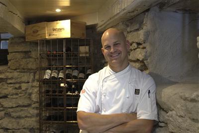 Fredrik Malmstedt kammade hem silver i klassen lufttorkat kött.