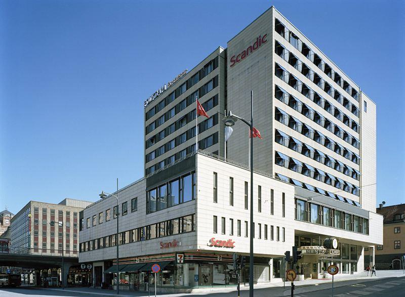 Scandic Continental fasad
