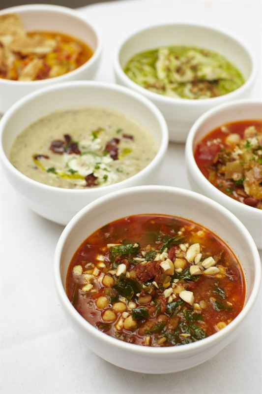 Jamie Oliver soup and deli all soups