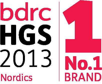 no1 brand Nordics logo